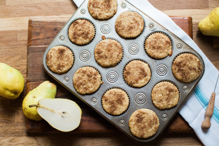 Pear Snickerdoodle Muffin