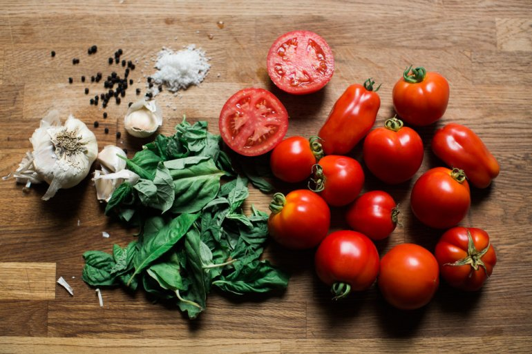 Roasted Tomato and Garlic Marinara
