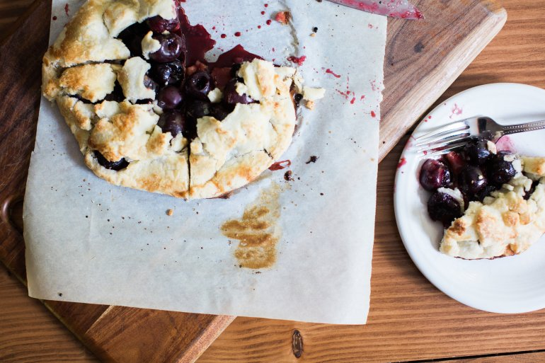 Rustic Cherry Galette